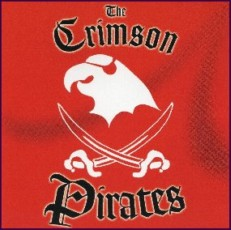 The Crimson Pirates Cover Art